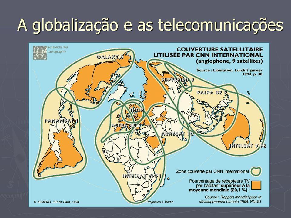 Escalas e globalização - Âmbito da segregação espacial; - Conflitos pela apropriação do espaço; - Ampliação das periferias urbanas; - Rupturas na solidariedade territorial.