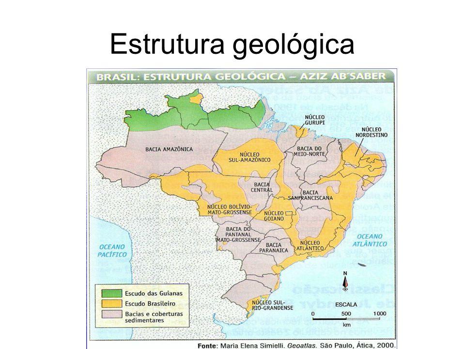 Mas o que é a estrutura geológica de um terreno.É a base geológica para qualquer relevo.