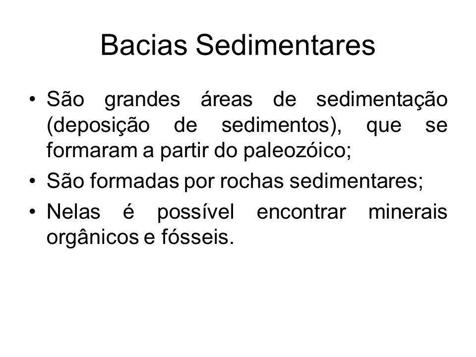 Dobramentos Modernos São originários do choque de placas tectônicas (POR ISSO NÃO EXISTEM NO BRASIL); Geram a formação de montanhas; Datam a partir do Cenozóico; É comum a presença de rochas magmáticas extrusivas;