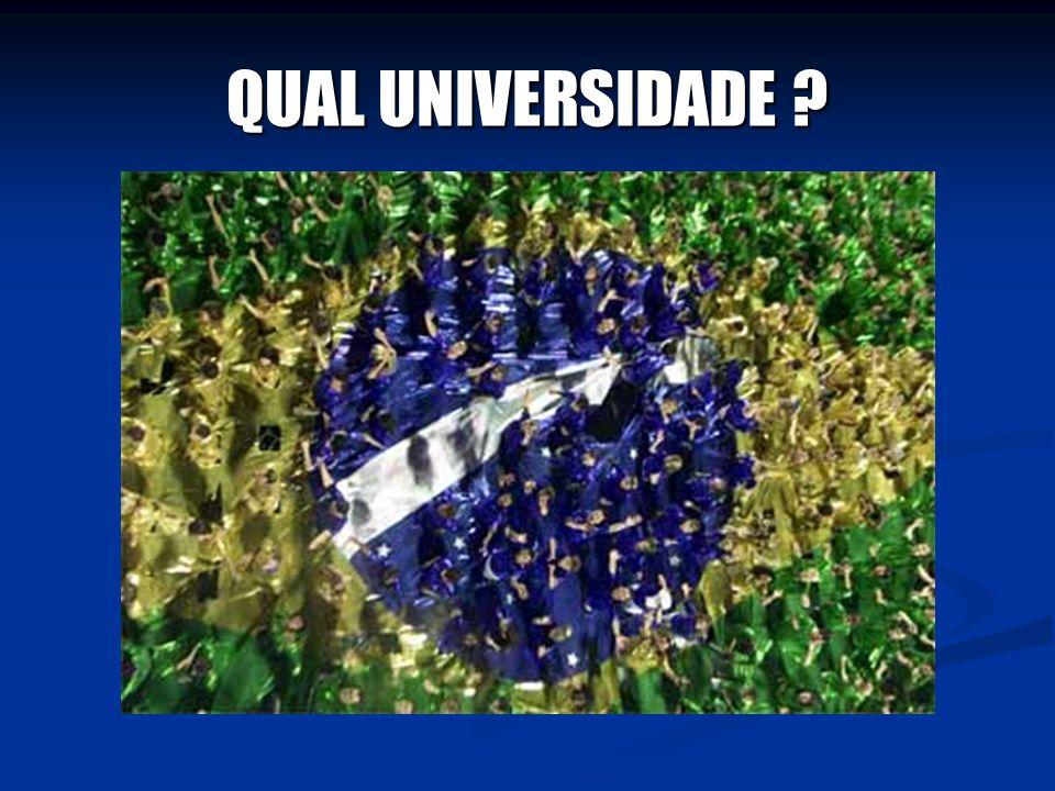 QUAL UNIVERSIDADE ?