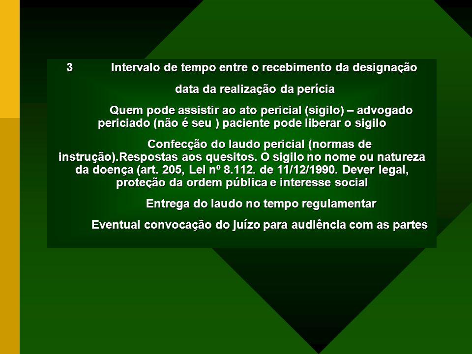 5.PERÍCIA MÉDICA E SUA REGULAMENTAÇÃO 5.1. Res. CFM 1441/94 5.2.