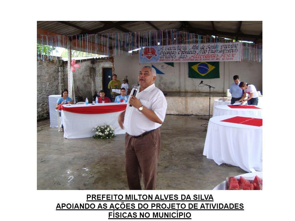 ENTREGA DE KITS DE ATIVIDADE FÍSICA PARA COMUNIDADE