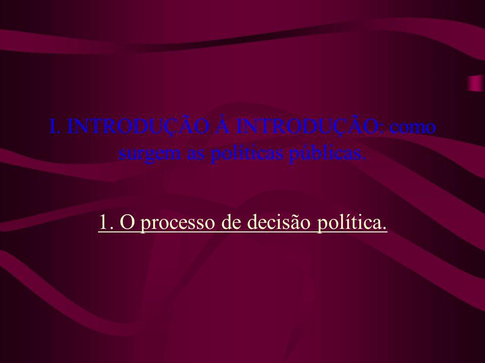 IV. POLÍTICAS PÚBLICAS E REPRESENTAÇÃO. 2. A essência e o objeto da representação.