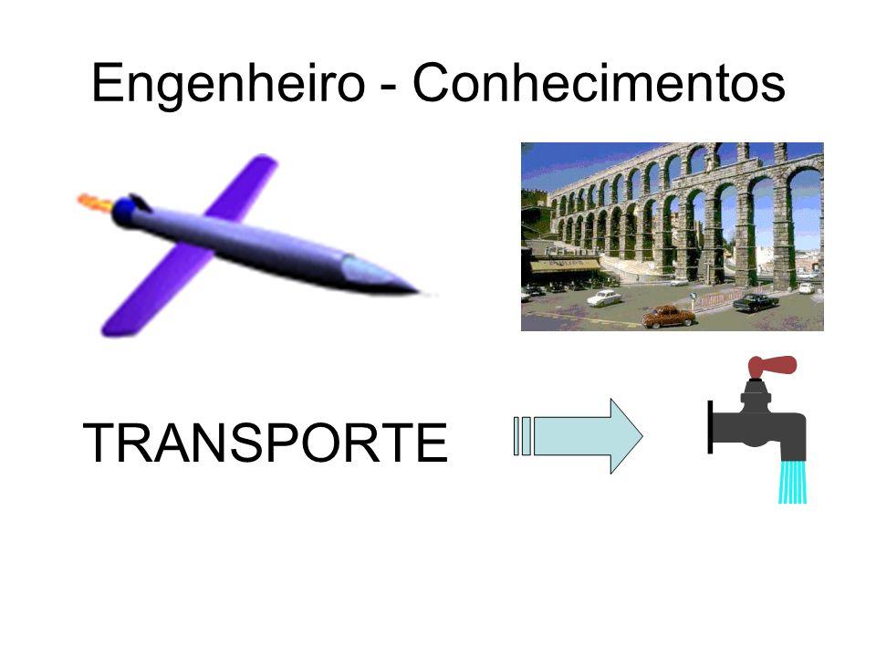Engenheiro - Conhecimentos TRANSPORTE