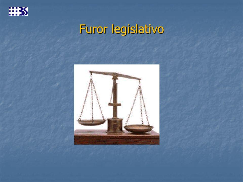 Furor legislativo