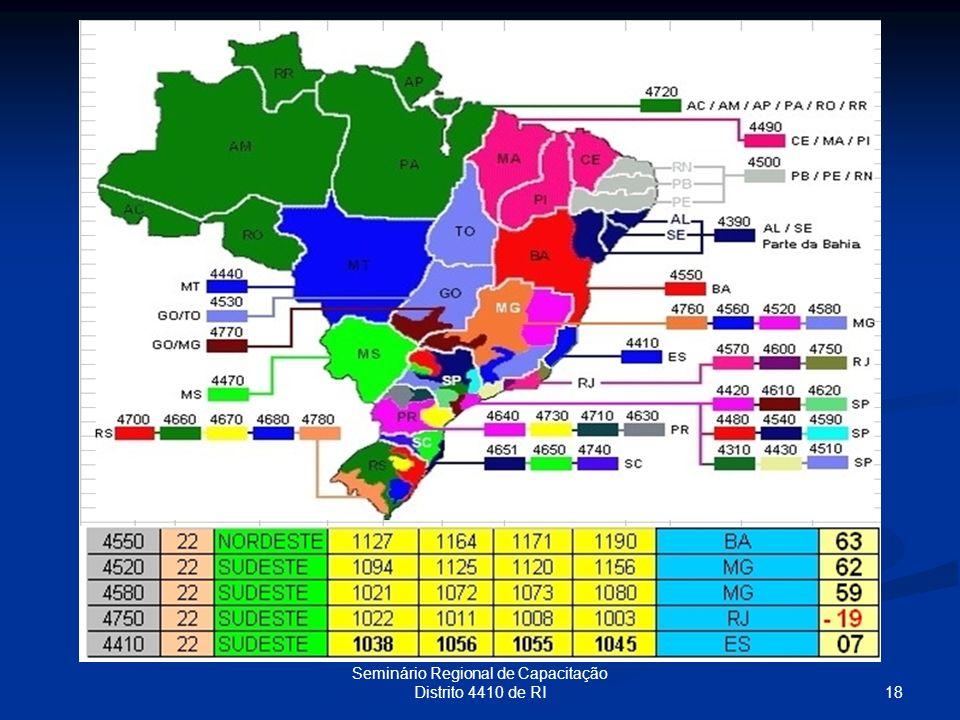18 Seminário Regional de Capacitação Distrito 4410 de RI