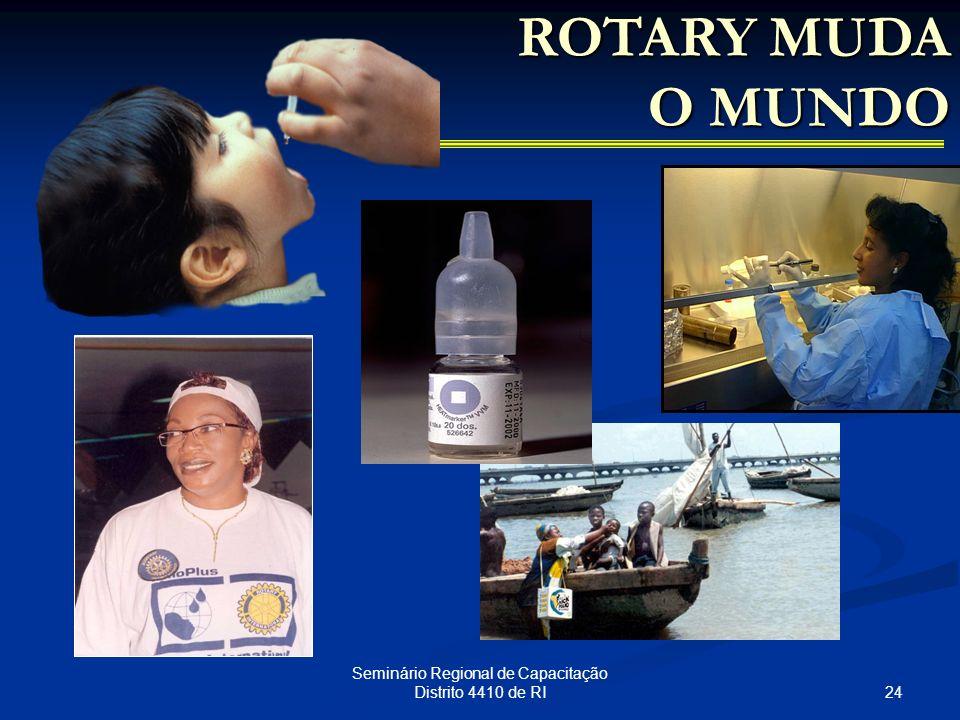 24 Seminário Regional de Capacitação Distrito 4410 de RI ROTARY MUDA O MUNDO