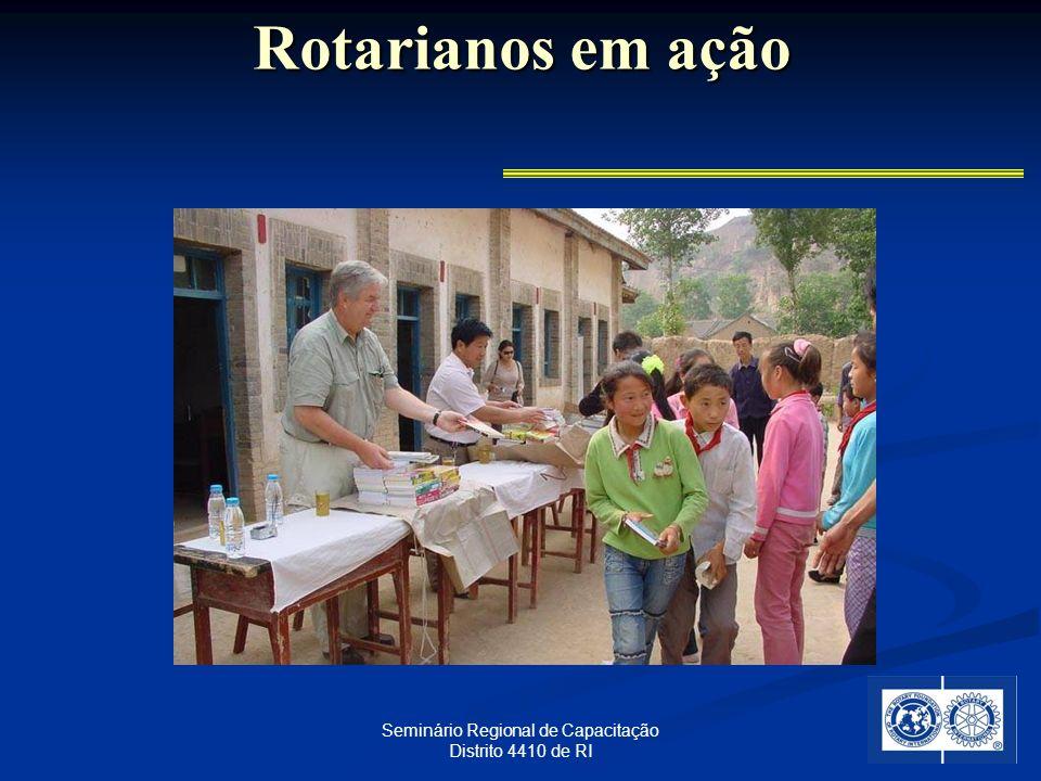 28 Seminário Regional de Capacitação Distrito 4410 de RI Rotarianos em ação