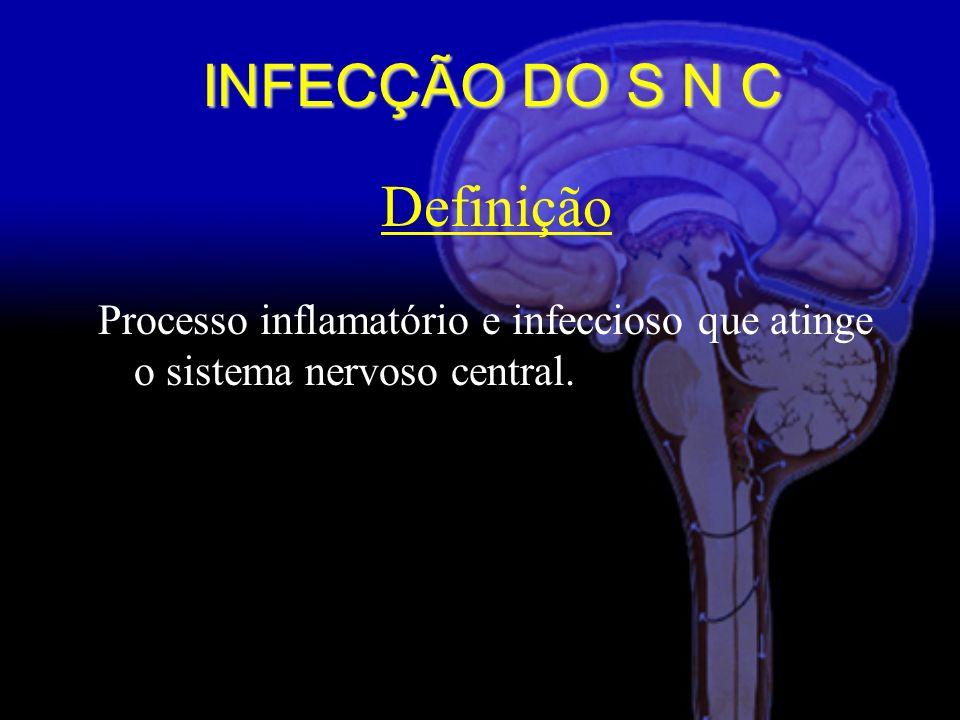 Definição Processo inflamatório e infeccioso que atinge o sistema nervoso central.
