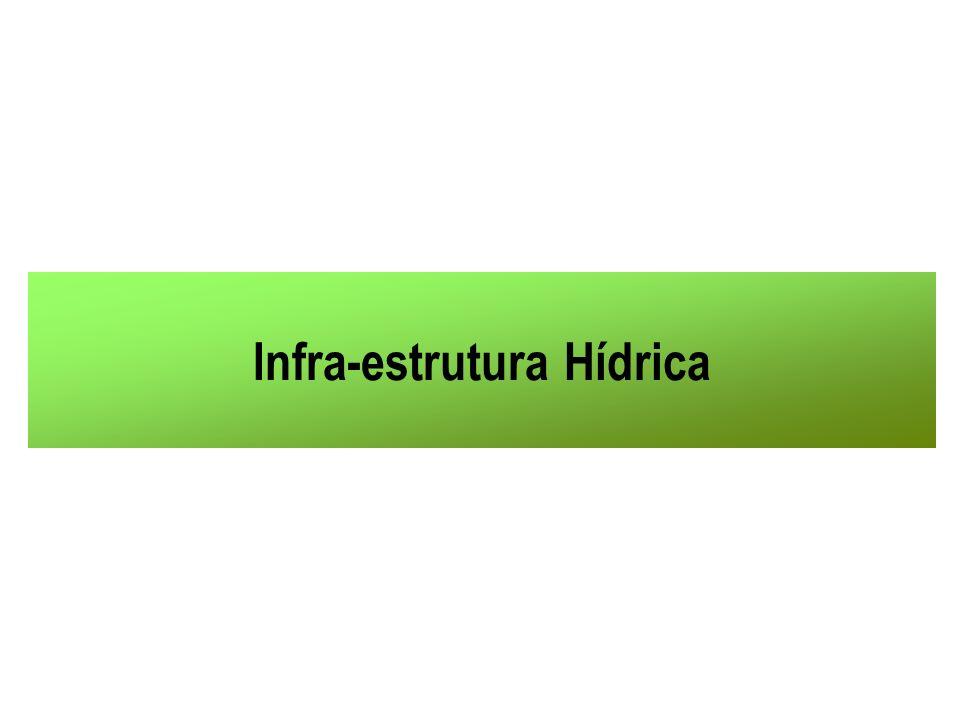 Infra-estrutura Hídrica