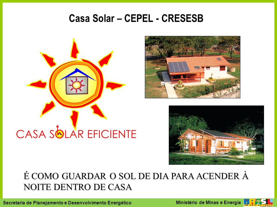 Secretaria de Planejamento e Desenvolvimento Energético - SPE Secretaria de Planejamento e Desenvolvimento Energético Ministério de Minas e Energia É
