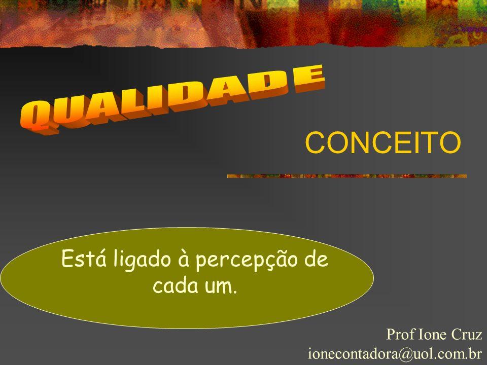 ALGUMAS CONSIDERAÇÕES Prof Ione Cruz ionecontadora@uol.com.br VALOR POR DINHEIRO O PREÇO QUE COBRO É REALMENTE UM PREÇO JUSTO.