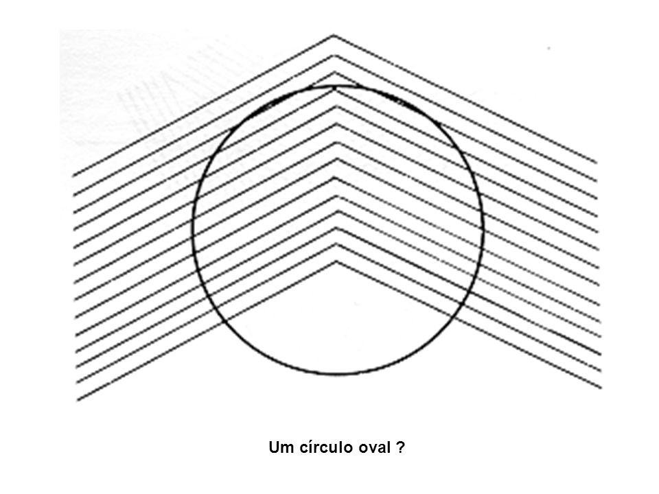 Um círculo oval ?