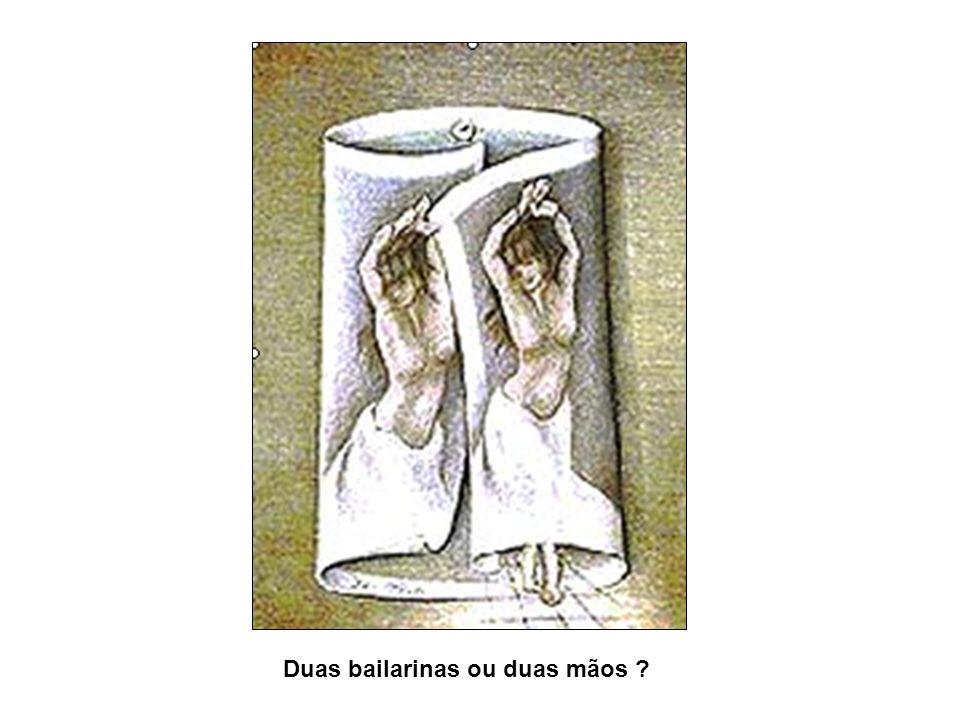 Duas bailarinas ou duas mãos ?