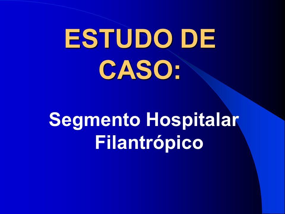 ESTUDO DE CASO: Segmento Hospitalar Filantrópico