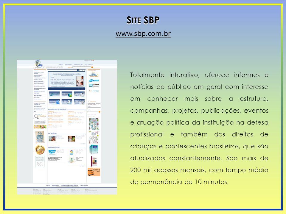 Totalmente interativo, oferece informes e notícias ao público em geral com interesse em conhecer mais sobre a estrutura, campanhas, projetos, publicaç