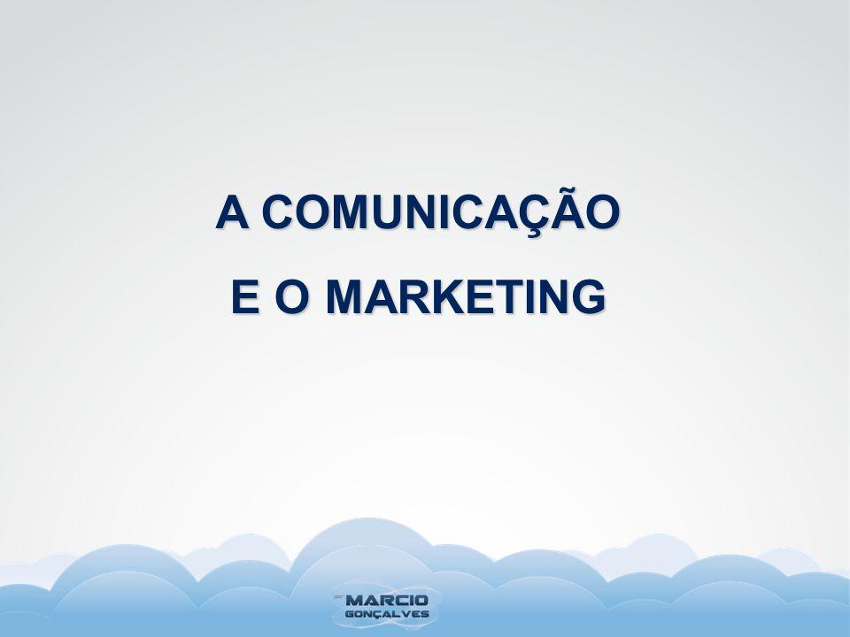 A COMUNICAÇÃO E O MARKETING
