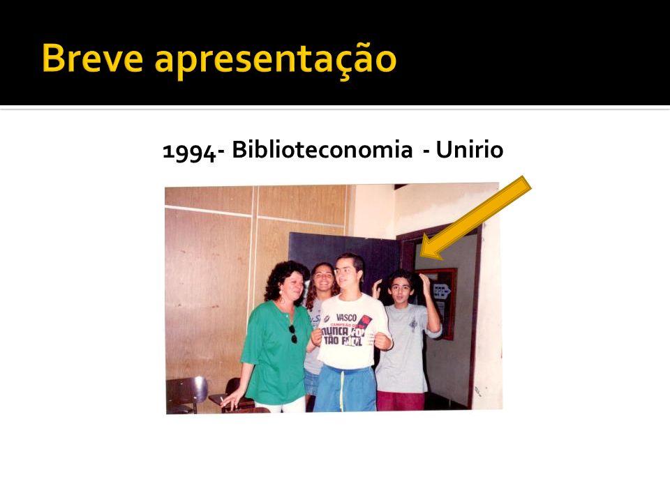 1994- Biblioteconomia - Unirio