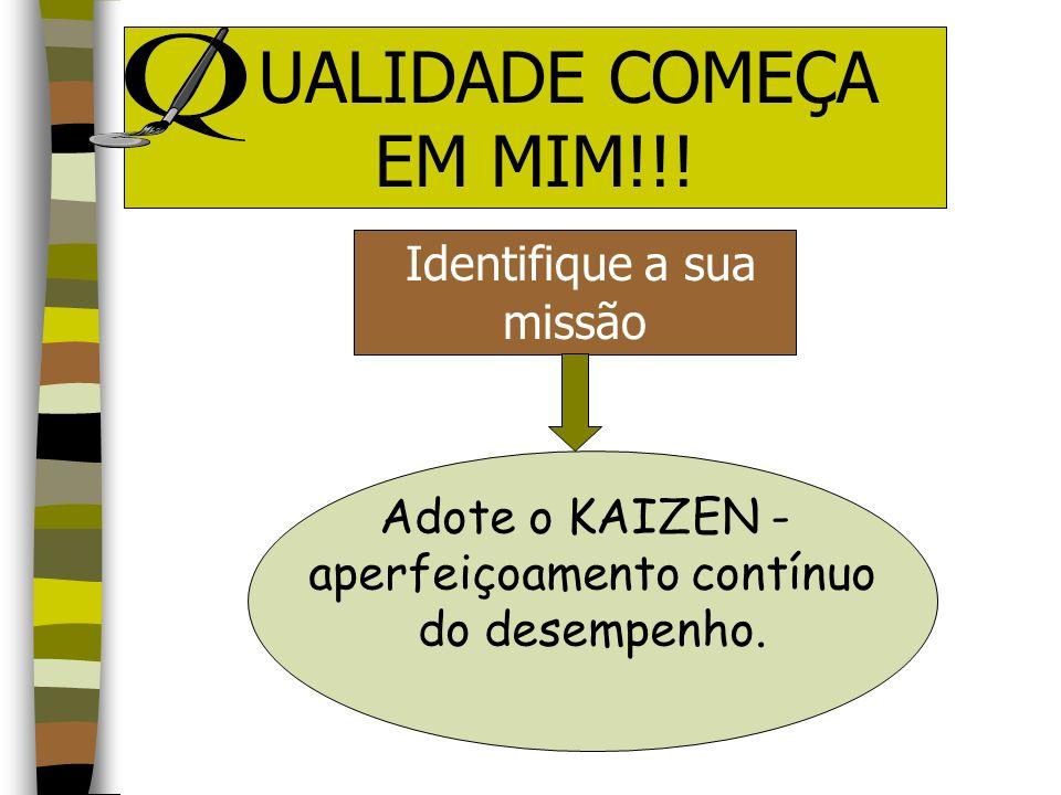 Saltar da competência para a EXCELÊNCIA UALIDADE COMEÇA EM MIM!!!