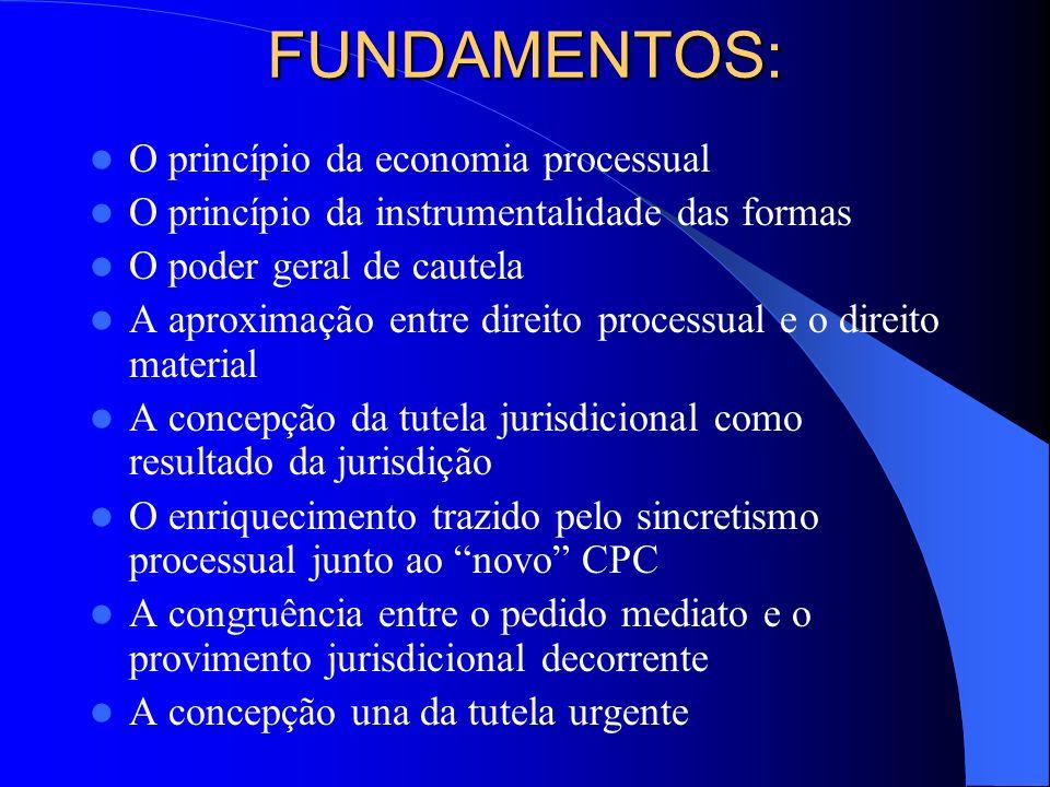 EXTENSÃO E DIFERENCIAÇÃO DAS TÉCNICAS URGENTES A DIVERGÊNCIA O DIREITO COMPARADO O ARTIGO 700 DO CPC ITALIANO A DIFERENCIAÇÃO EXPRESSA EFETUADA PELO CPC BRASILEIRO