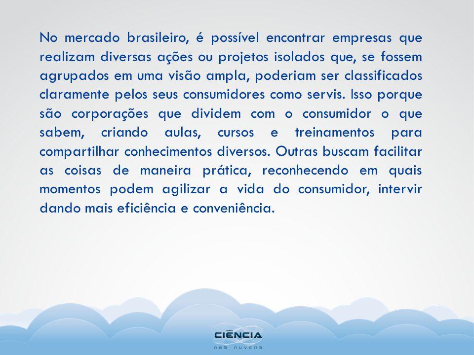 No mercado brasileiro, é possível encontrar empresas que realizam diversas ações ou projetos isolados que, se fossem agrupados em uma visão ampla, pod