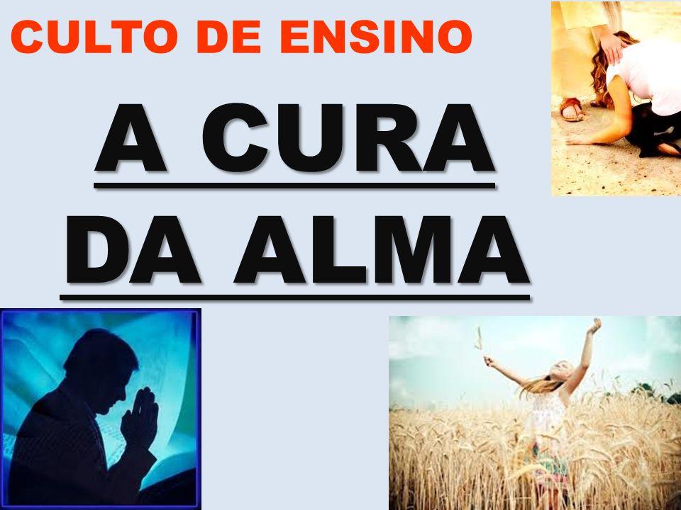 www.advilasolange.com.br CULTO DE ENSINO A CURA DA ALMA VILA SOLANGE A ORIGEM DA ALMA FALTA DE PALAVRA – HEBREUS 04:12 FALTA DEPERSEVERANÇA – HEBREUS 03:06 FALTA DE DESCANSO – SALMO 23:04 FALTA DE VISÃO – JOÃO 04:35 FALTA DE AMOR – EFESIOS 05:02 FALTA DE ALEGRIA – FILIPENSES 04:04 FALTA DE DIREÇÃO – LUCAS 02:27 FALTA DE HUMILDADE – TIAGO 04:10 FALTA DE PRUDÊNCIA – COLOSS 01:16 O QUE FAZ A ALMA ADOECER?