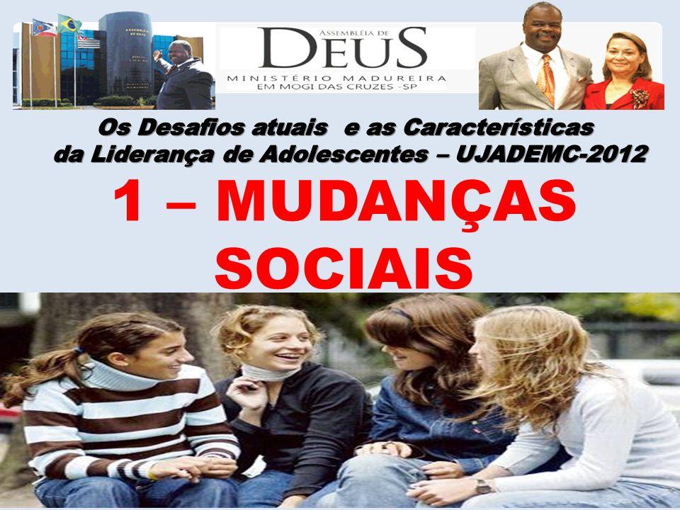 1 – MUDANÇAS SOCIAIS
