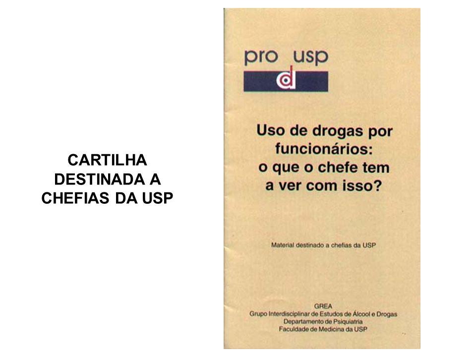 CARTILHA DESTINADA A CHEFIAS DA USP