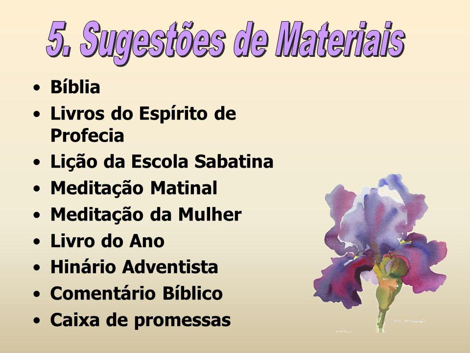 Bíblia Livros do Espírito de Profecia Lição da Escola Sabatina Meditação Matinal Meditação da Mulher Livro do Ano Hinário Adventista Comentário Bíblic