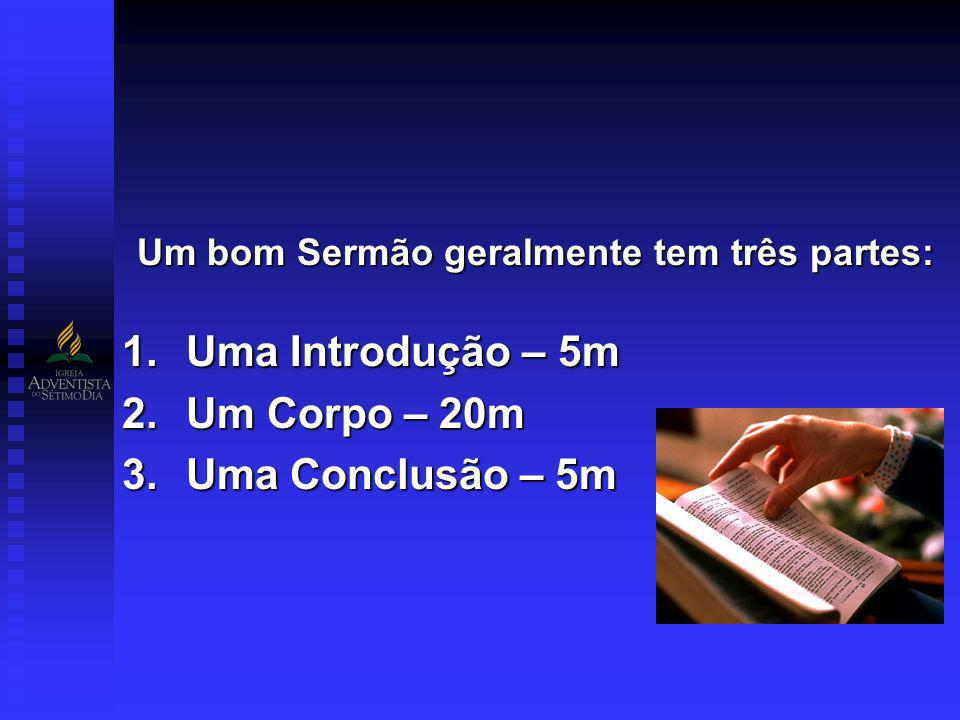 A.Tipos de Introdução (Início do sermão, Apresentação inicial) 1.Introdução Ousada.