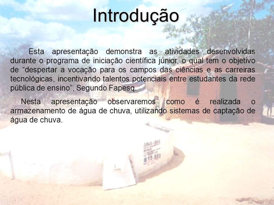Introdução Esta apresentação demonstra as atividades desenvolvidas durante o programa de iniciação científica júnior, o qual tem o objetivo de despert