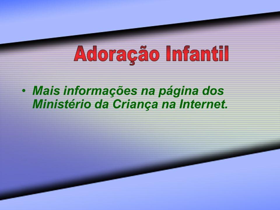 Mais informações na página dos Ministério da Criança na Internet.