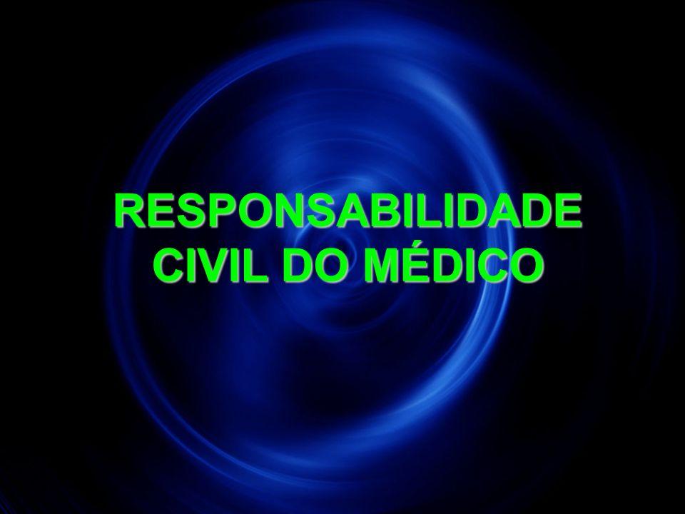 13 RESPONSABILIDADE CIVIL DO MÉDICO