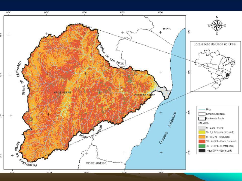 Tabela 1: Padrões do relevo da Bacia do Rio Doce
