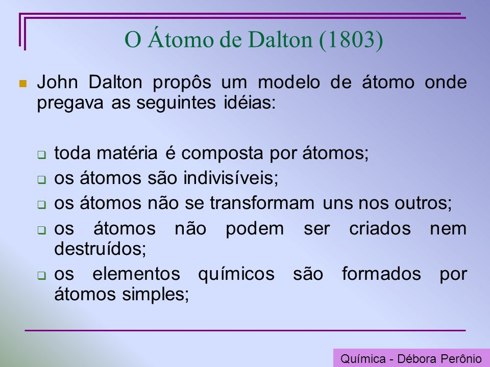 Química - Graça Porto Niels Bohr (1885-1962) Química - Débora Perônio