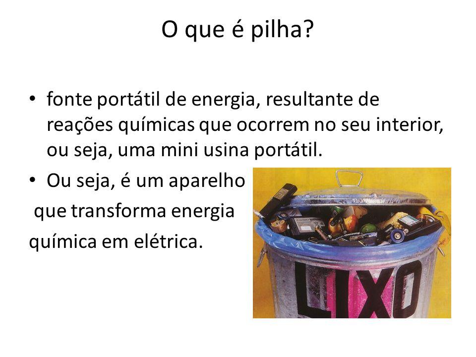 Referências Disponível em: http://www.rayovac.com.br/pilha.htm.