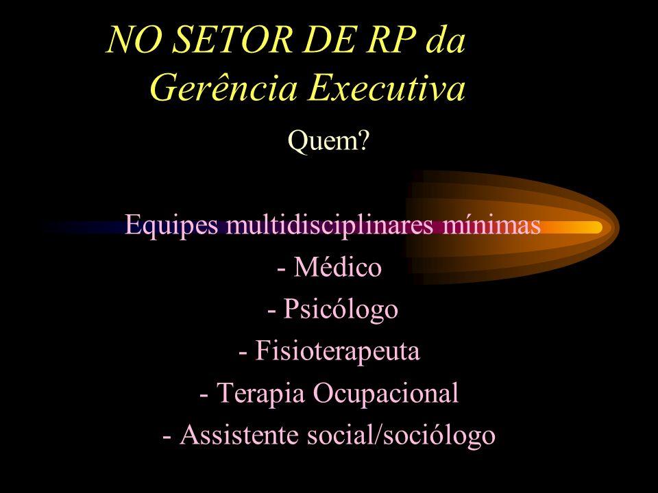 NO SETOR PERICIAL Perícia Médica do INSS Equipe de reabilitação profissional -Garantia de manutenção de benefício por incapacidade até o final do proc