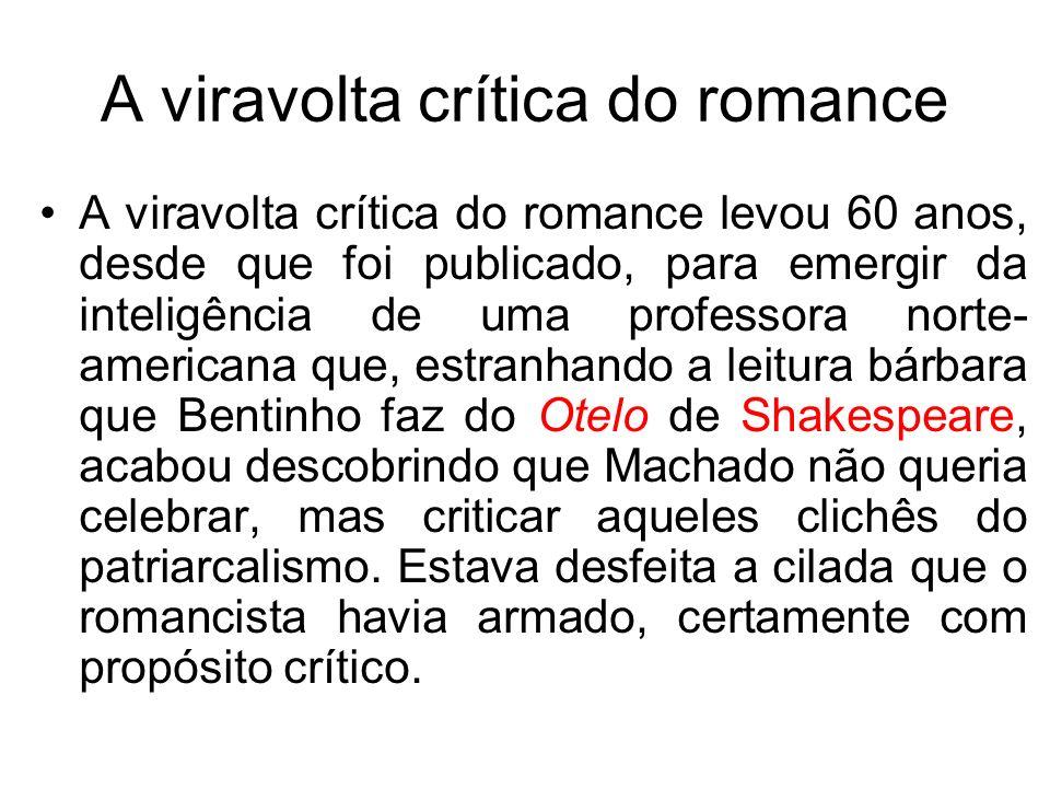 A viravolta crítica do romance A viravolta crítica do romance levou 60 anos, desde que foi publicado, para emergir da inteligência de uma professora n
