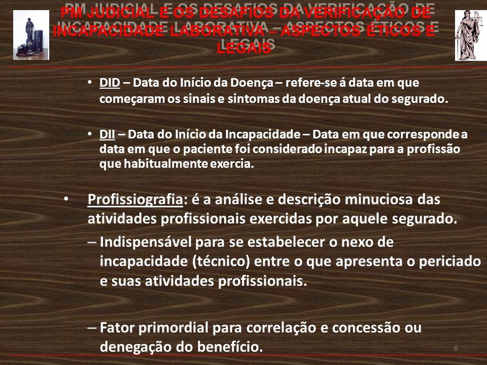 7 -PROBLEMA PRINCIPAL -Desconhecimento e desinformação -Pacientes/segurados -Sociedade -Mídia -Classe médica: médicos assistentes -Peritos -Juristas