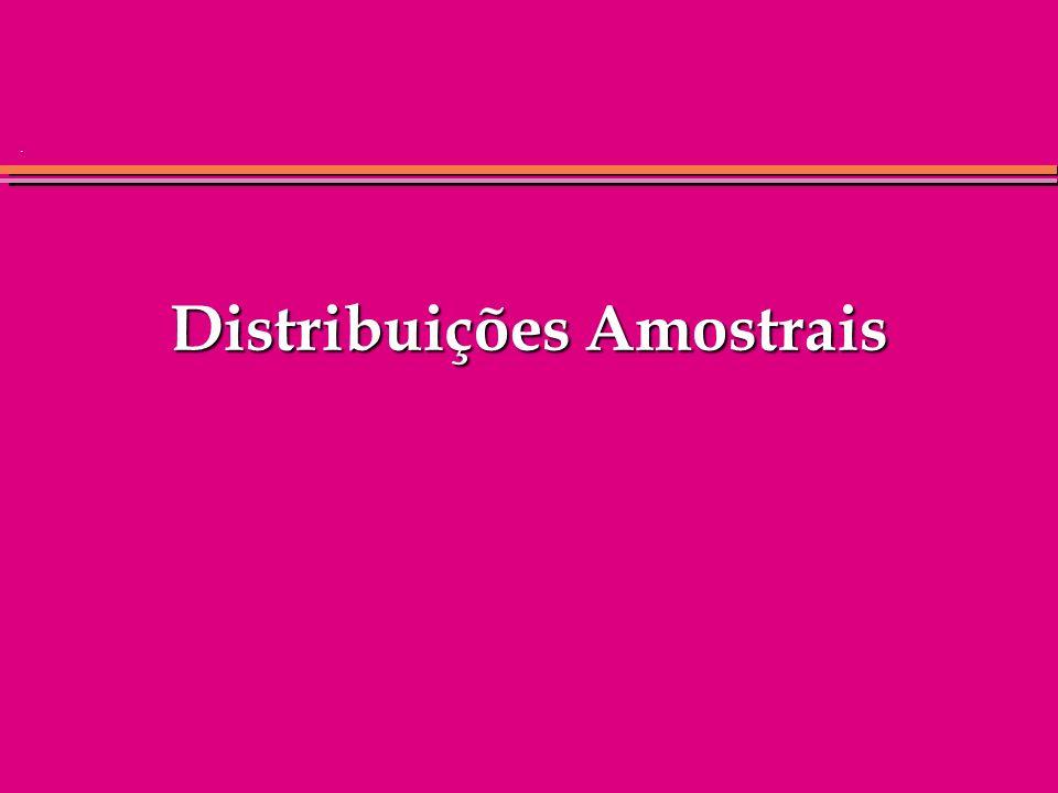 . Distribuições Amostrais