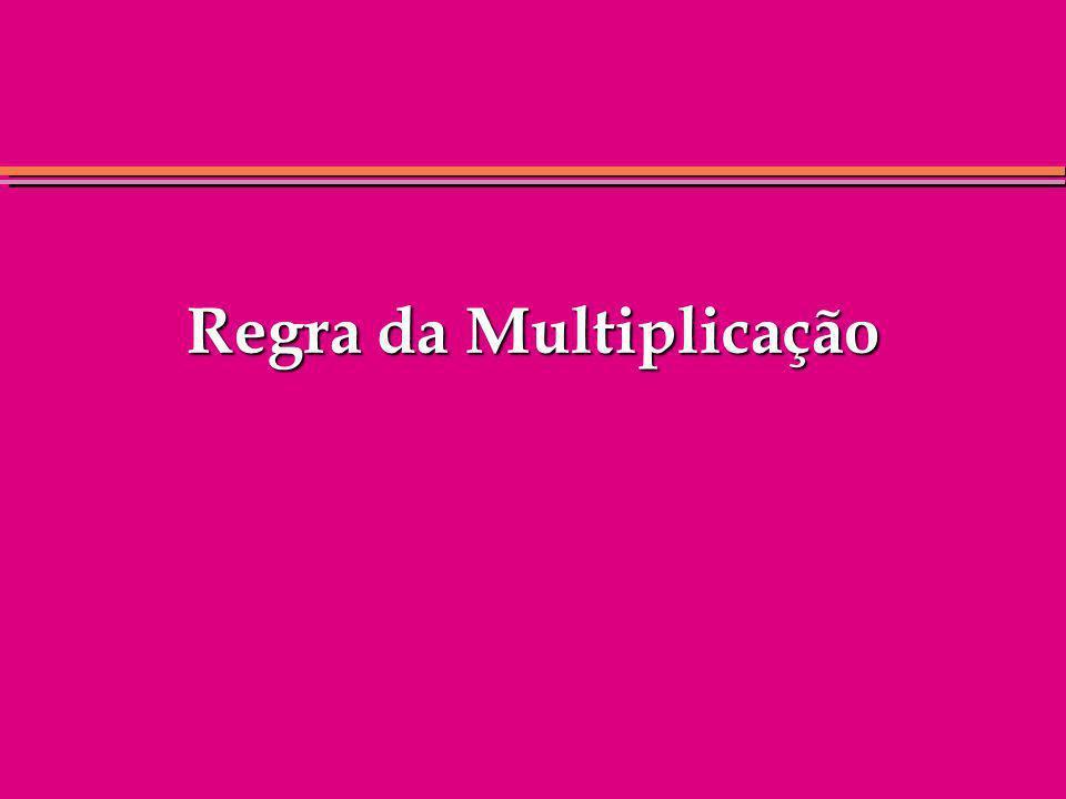 Regra da Multiplicação