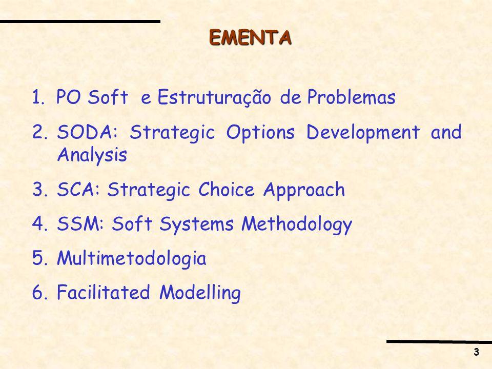 4 Facilitated Modeling Facilitated modelling é considerado um tipo de intervenção OR – um processo pelo qual modelos de OR são criados em conjunto com os clientes.