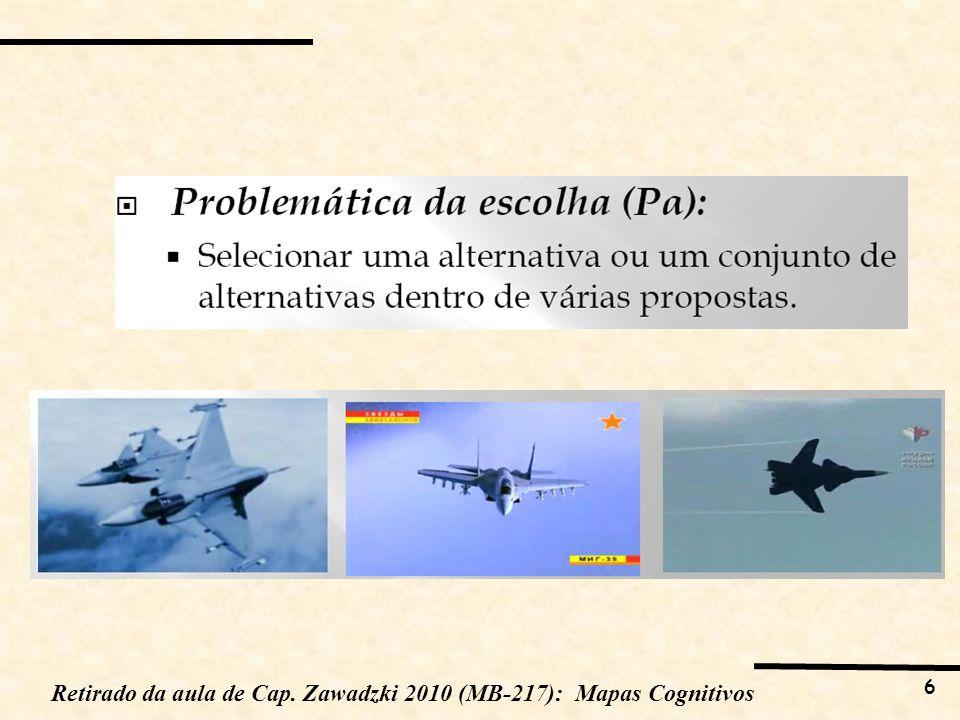 6 Retirado da aula de Cap. Zawadzki 2010 (MB-217): Mapas Cognitivos