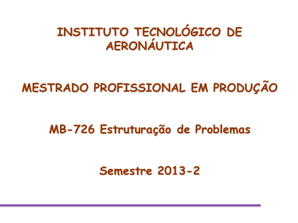 Aula 2 Strategic Options Development Analysis SODA 27 setembro 2013