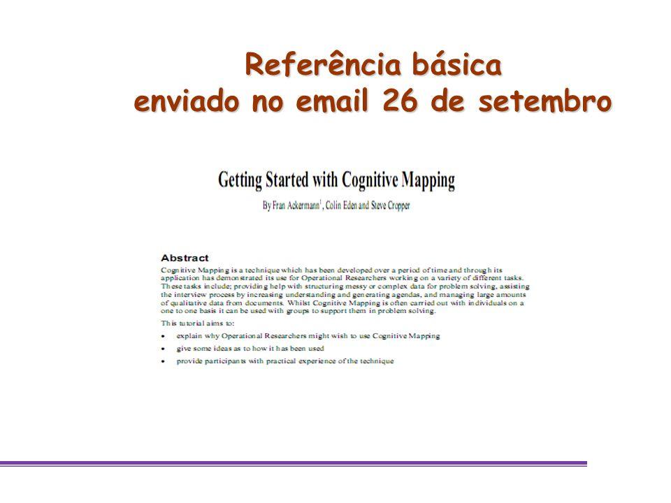 Referência básica enviado no email 26 de setembro
