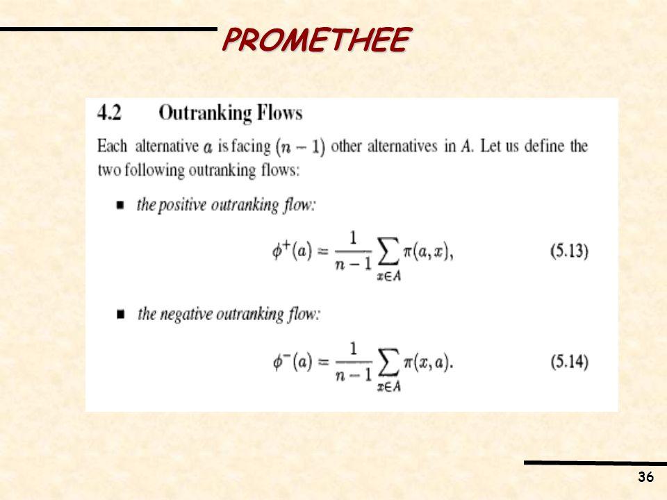 36 PROMETHEE