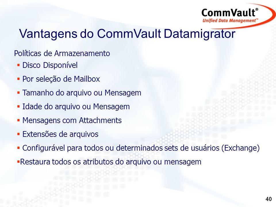 41 CommVault DataArchiver