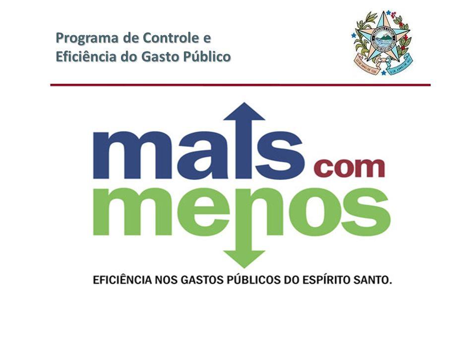 III Fórum de Contabilidade Pública Programa de Controle e Eficiência do Gasto Público