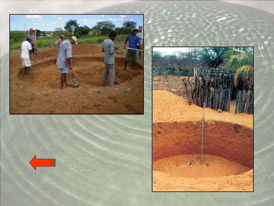6ª etapa: Colocação do sistema de captação e manejo de água