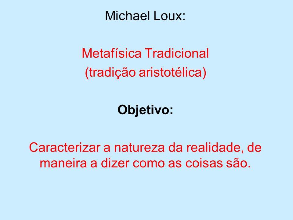 Diferentes tradições associam diferentes temas e metodologias ao projeto a metafísica.